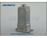 Power window regulator motor casing