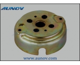 Canned electric motor cover